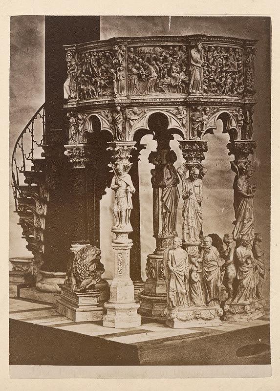 Neznámy autor – Pisa. Dóm di Santa Maria Assunta. Kazateľnica (Duomo di Santa Maria Assunta, Il pergamo)