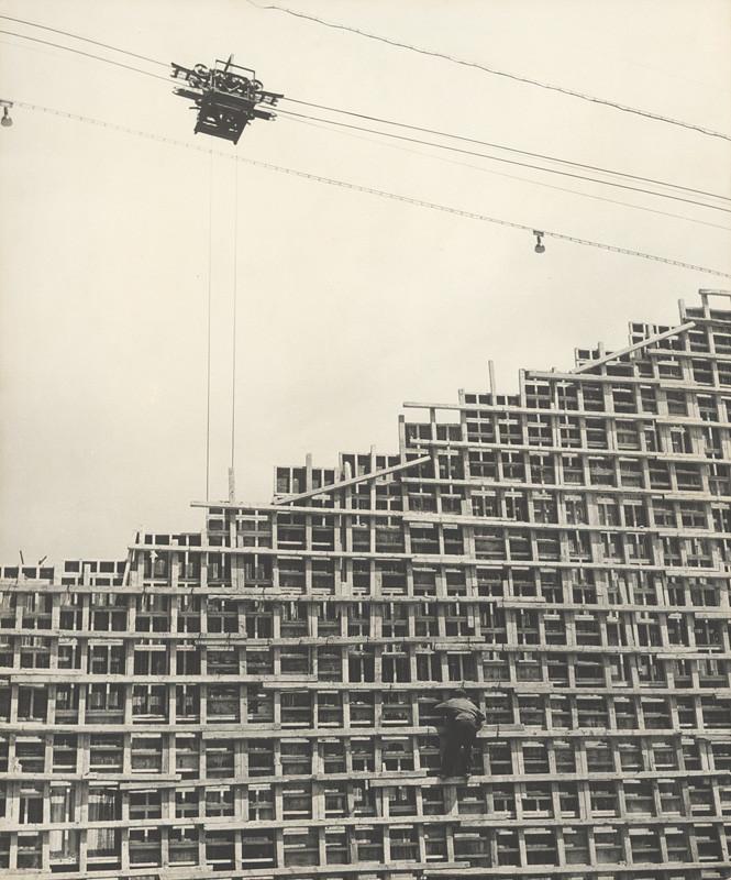 Karol Kállay – Zo stavby Bučovskej priehrady, 1960, Slovenská národná galéria
