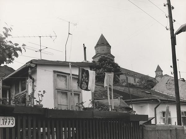 Pavol Breier st. - Bez názvu (Bratislava. Podhradie. Prádlo)