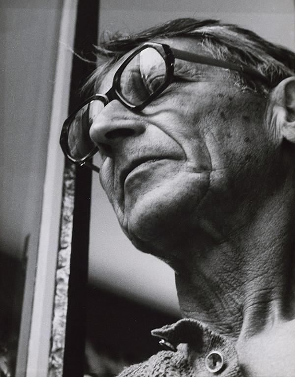 Pavol Breier st. - Portréty. Autoportrét v okuliaroch