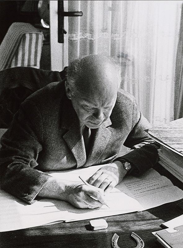 Pavol Breier st. – Portréty. Ján Cikker