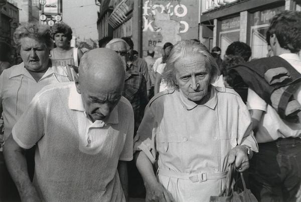 Juraj Bartoš - Obchodná ulica. Chodci