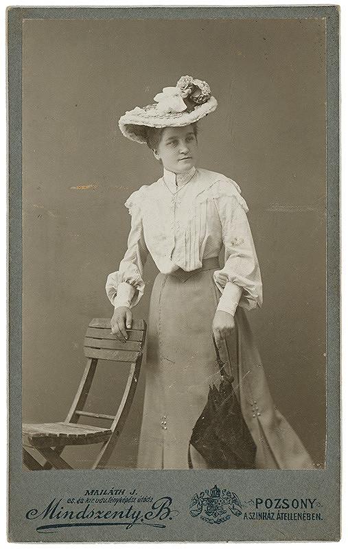 Béla Mindszenty – Portrét ženy
