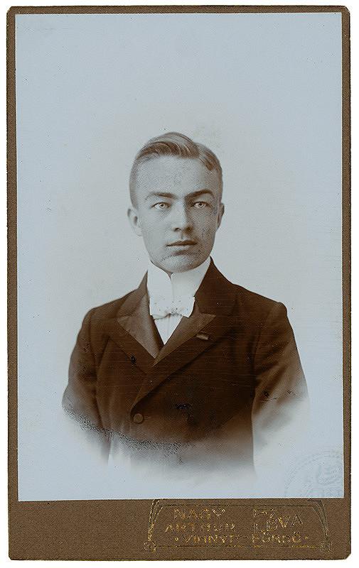 Arthur Nagy – Portrét muža
