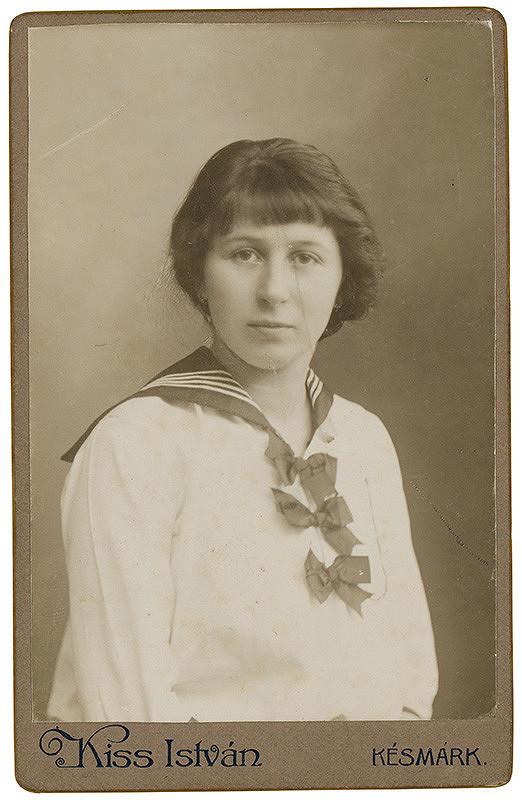 István Kiss - Portrét dievčaťa