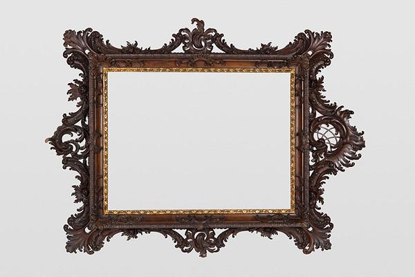 Slovenský remeselník z 19. storočia – Vyrezávaný rám