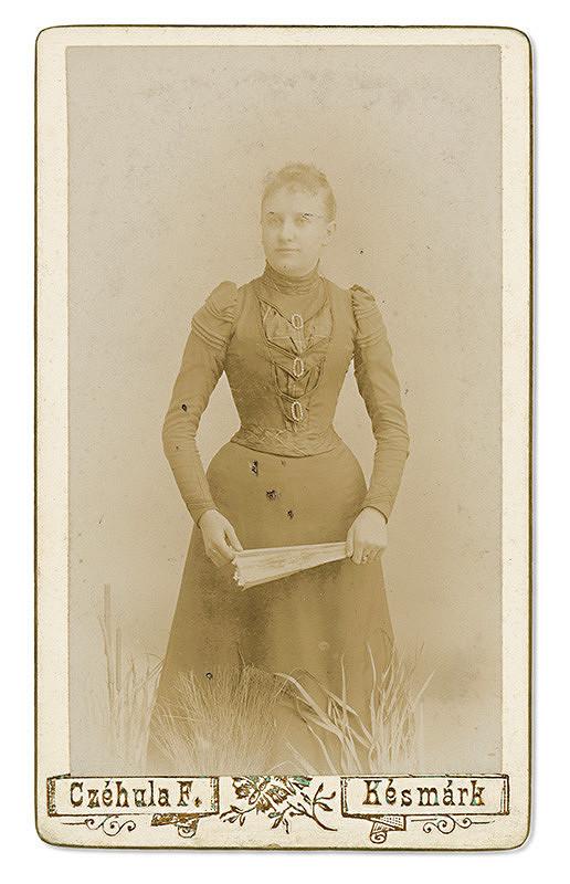 Ferencz Czéhula – Portrét ženy s vejárom