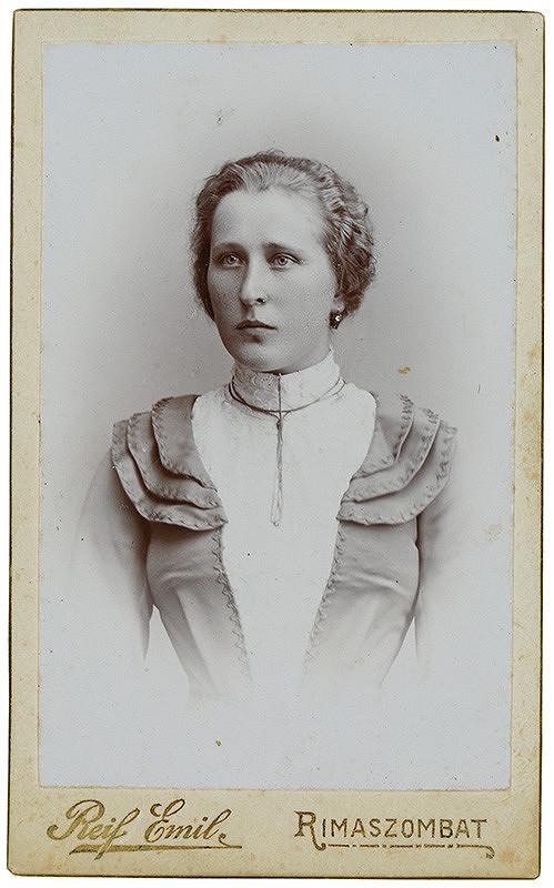 Emil Reif - Portrét ženy