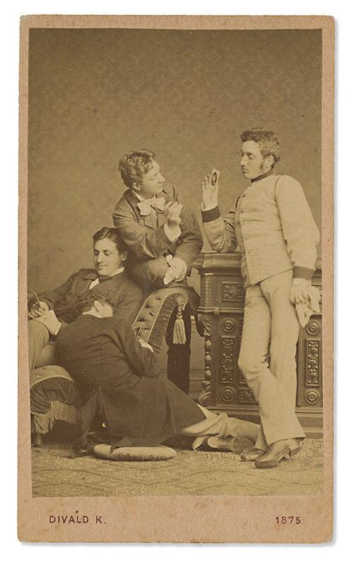 Karol Divald – Skupina štyroch mužov