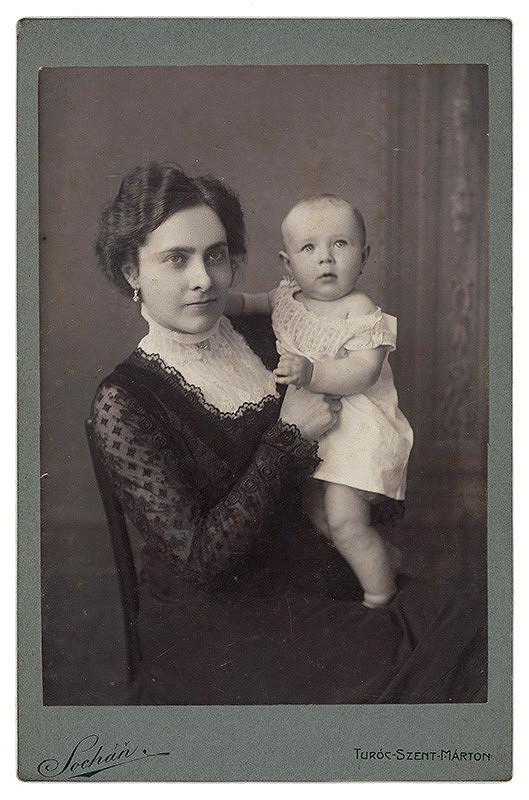 Pavol Socháň - Anna Vanovičová s dcérou Elou
