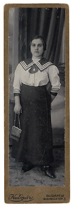 Péter Kalmár – Portrét ženy