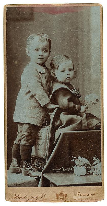 Béla Mindszenty – Detský dvojportrét