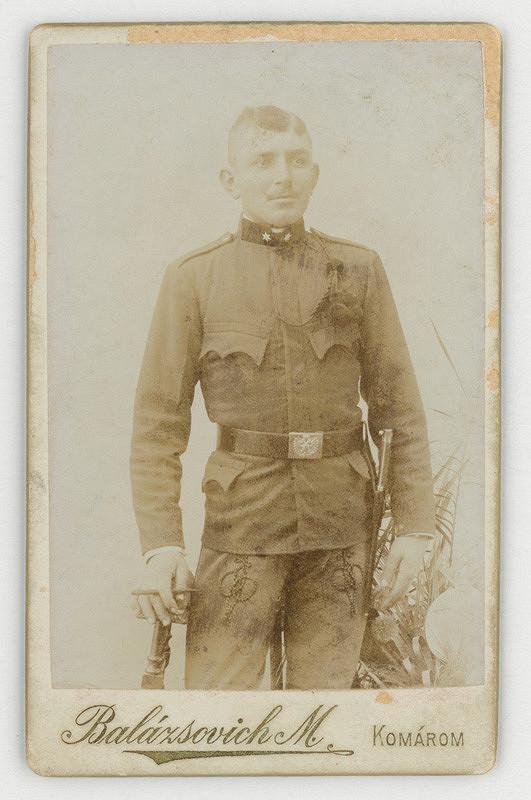 M. Balázsovich – Portrét vojaka