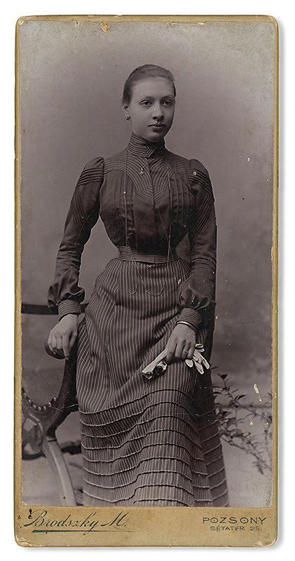 Móric Brodszky – Portrét ženy