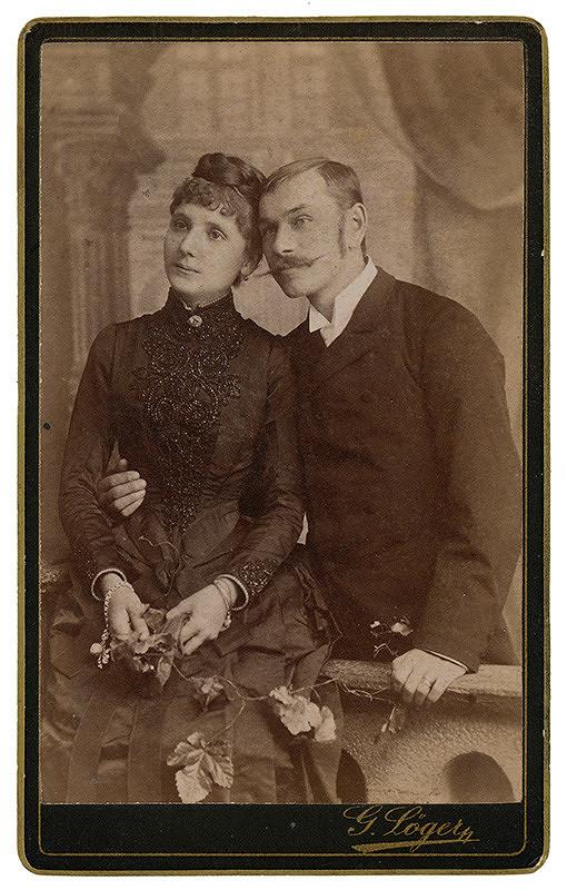 Gusztáv Löger – Portrét muža a ženy
