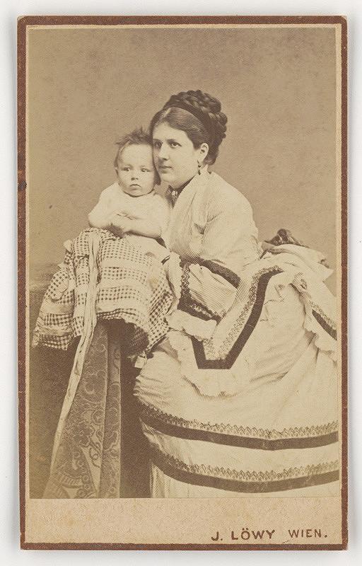 Jozef Löwy – Portrét matky s dieťaťom