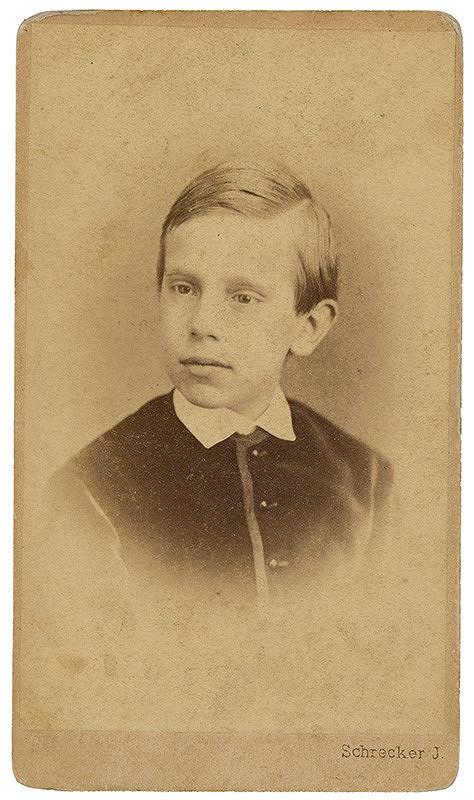 J. Schrecker - Portrét chlapca