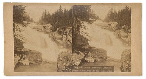 Karol Divald – Tretí vodopád Veľkého Studeného potoka