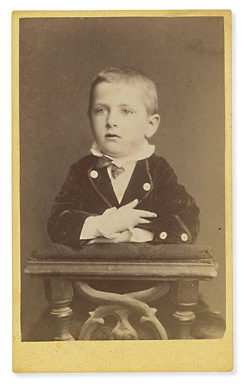 Karol Divald - Portrét chlapca