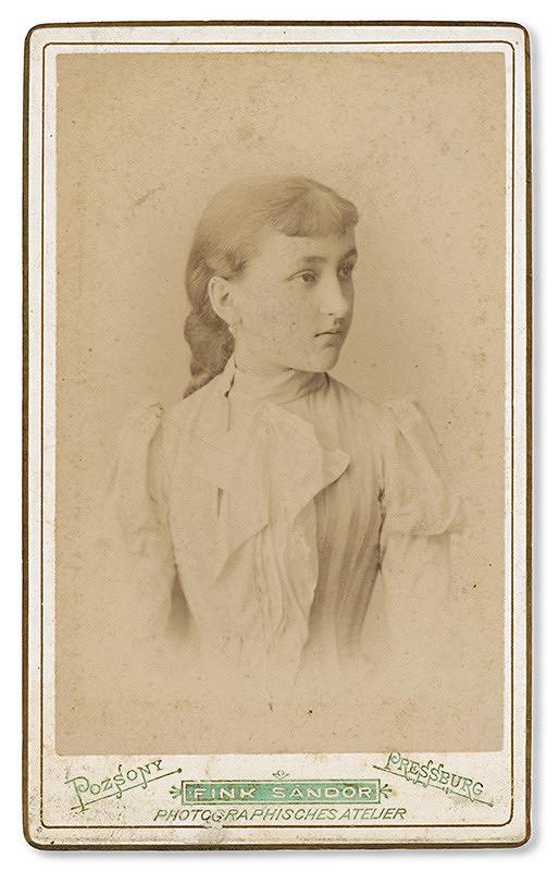 Alexander Fink – Portrét mladej ženy