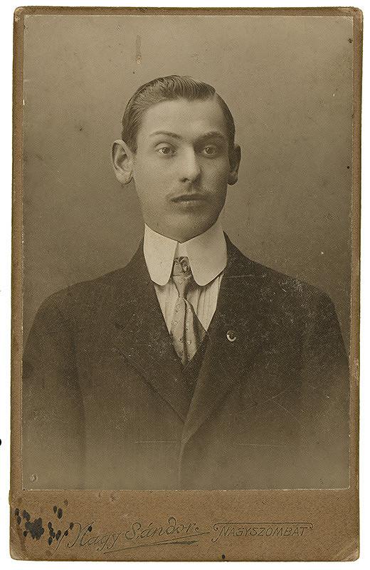 Sándor Nagy - Portrét muža