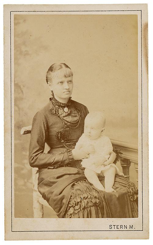 Max Stern – Portrét mladej ženy s dieťaťom