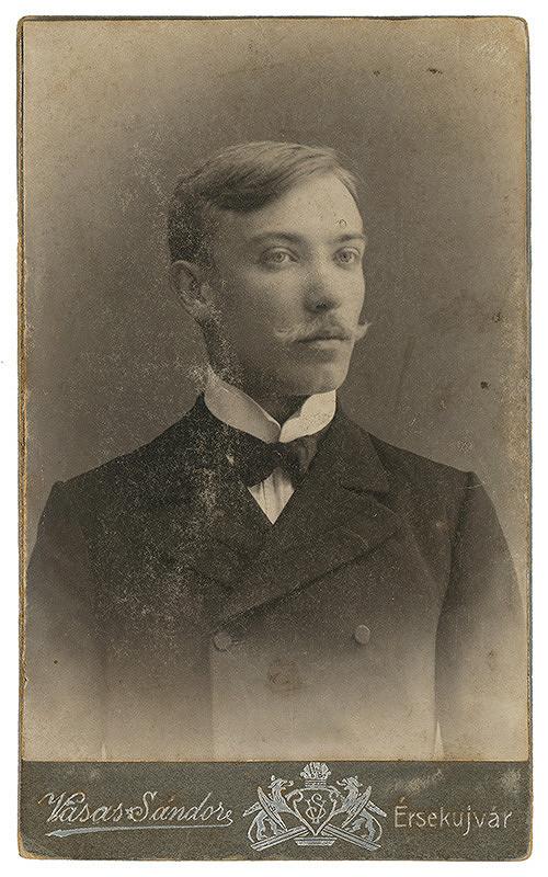 Sándor Vasas – Portrét muža s fúzmi