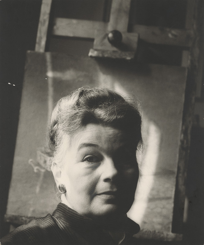Magdaléna Robinsonová – Edita Špannerová, Portrét, 1970, Slovenská národná galéria