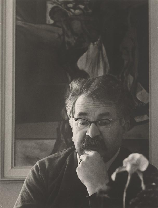 Magdaléna Robinsonová – Vincent Hložník. Portrét, 1970, Slovenská národná galéria