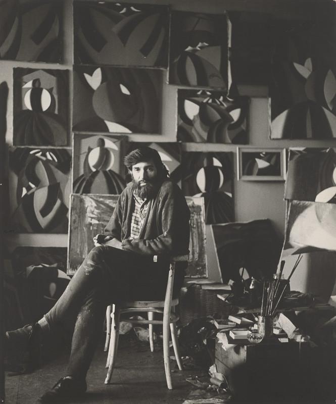 Magdaléna Robinsonová – Milan Laluha, Portrét, 1970, Slovenská národná galéria