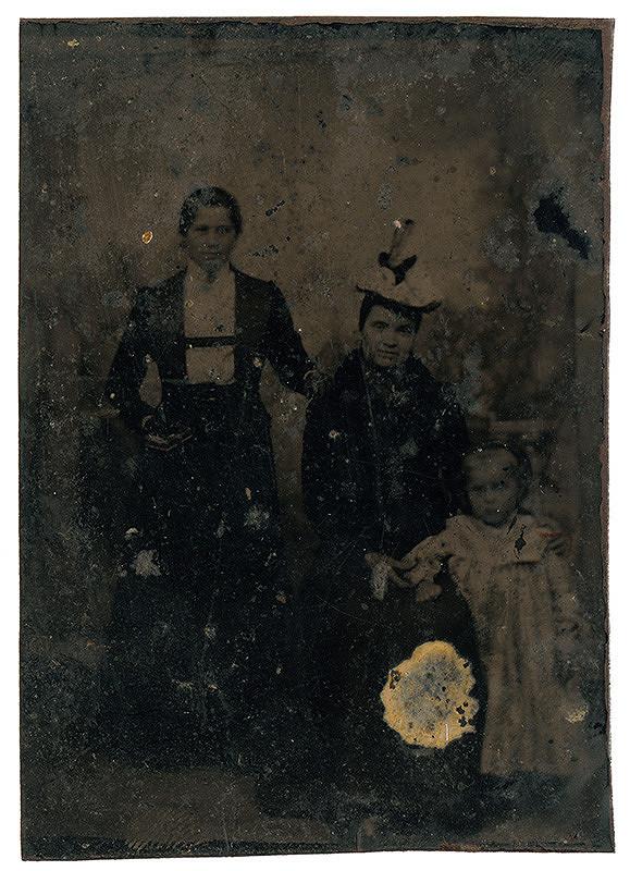 Neznámy autor – Portrét dvoch žien s dieťaťom