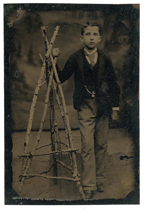 Neznámy autor - Portrét chlapca