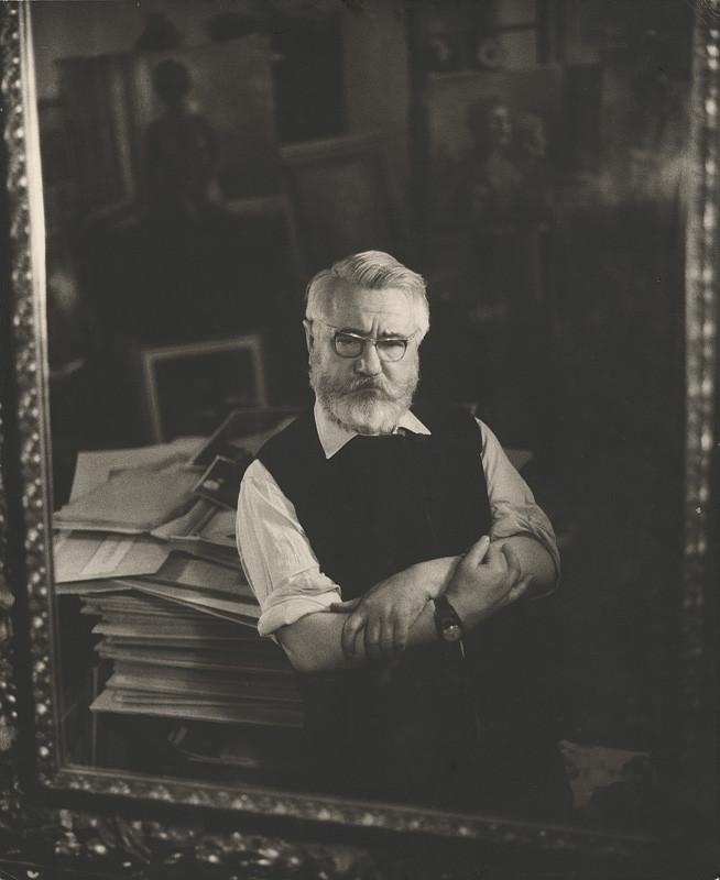Magdaléna Robinsonová – Ján Mudroch, Portrét, 1970, Slovenská národná galéria