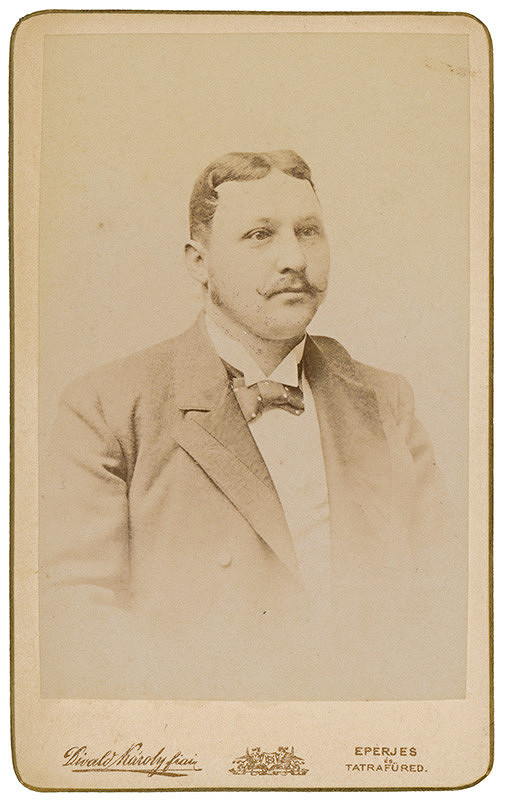 Karol Divald - Portrét muža