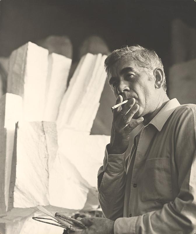 Magdaléna Robinsonová – Tibor Bártfay, Portrét, 1970, Slovenská národná galéria