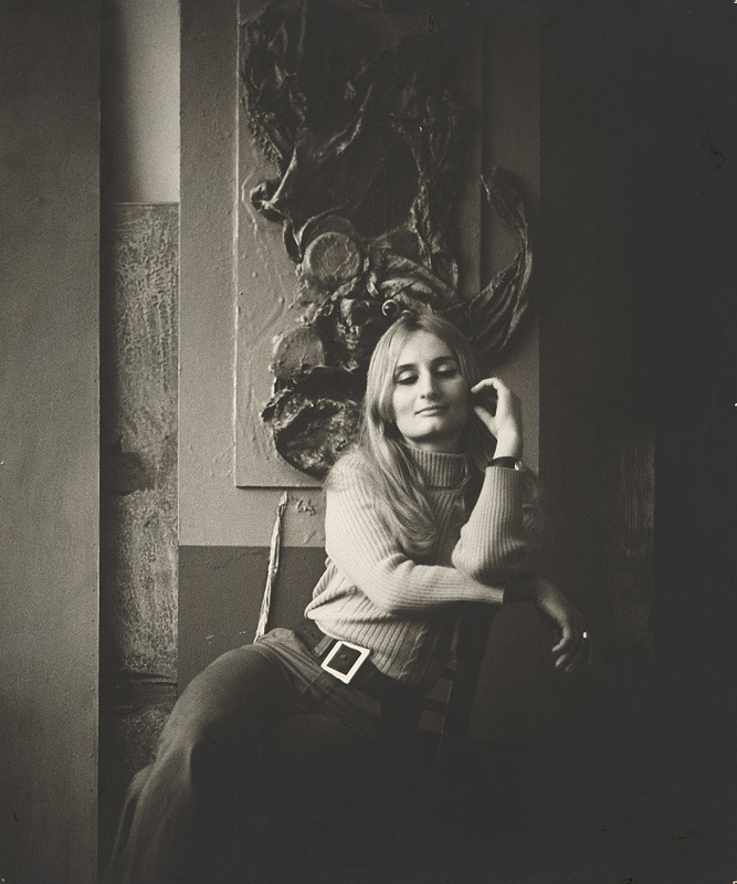 Magdaléna Robinsonová – Mira Haberernová, Portrét, 1970, Slovenská národná galéria