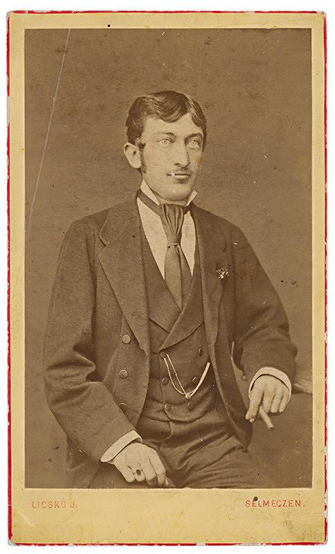 J. Licskó - Portrét muža