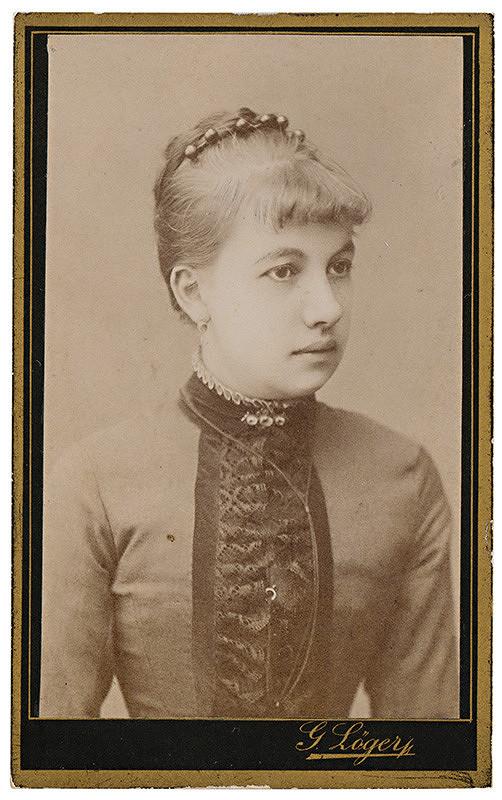 Gusztáv Löger – Portrét mladej ženy