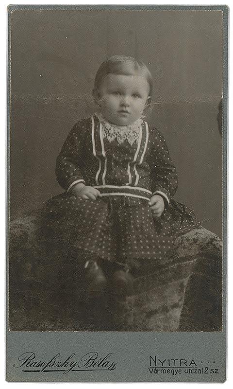 Béla Rasofszky – Portrét dieťaťa