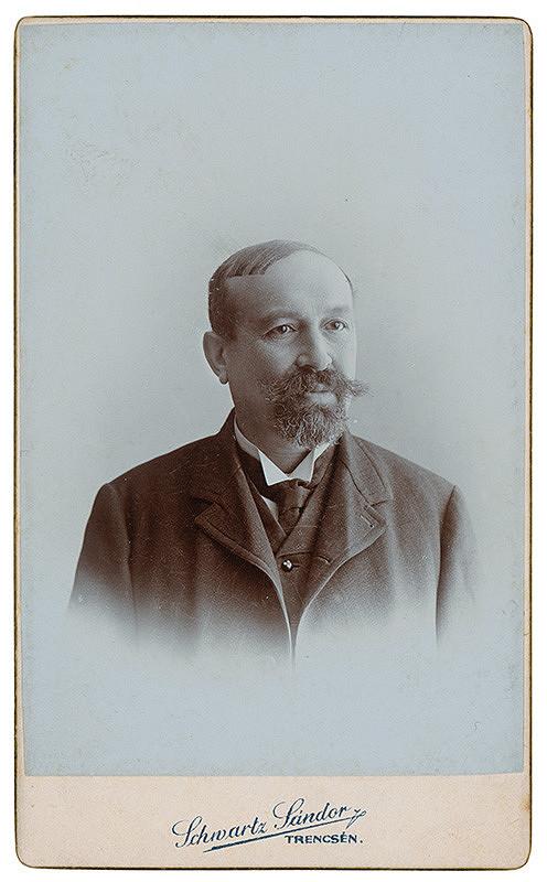 Sandor Schwartz - Portrét muža
