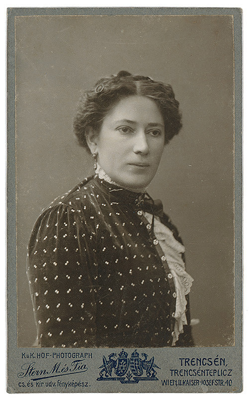 Stern és fia – Portrét ženy