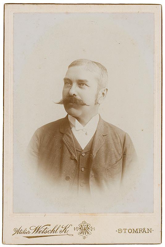 Ateliér Wetschl K. – Portrét muža