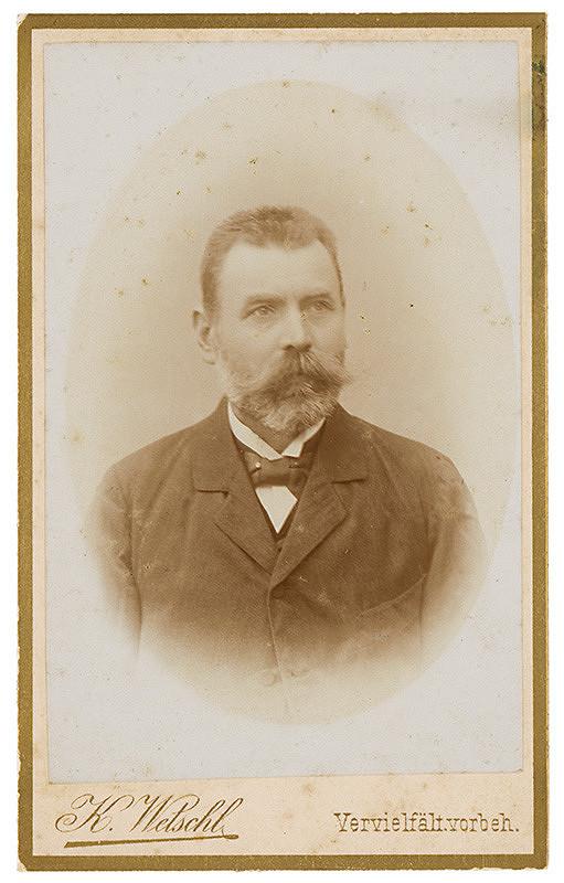 K. Wetschl - Portrét muža