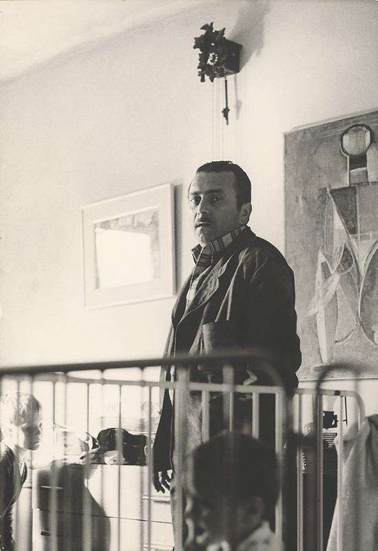 Magdaléna Robinsonová – Milan Paštéka. Portrét, 1969–1970, Slovenská národná galéria