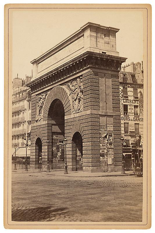 Neznámy autor – Paríž. Brána sv. Martina (Porte Saint-Martin)