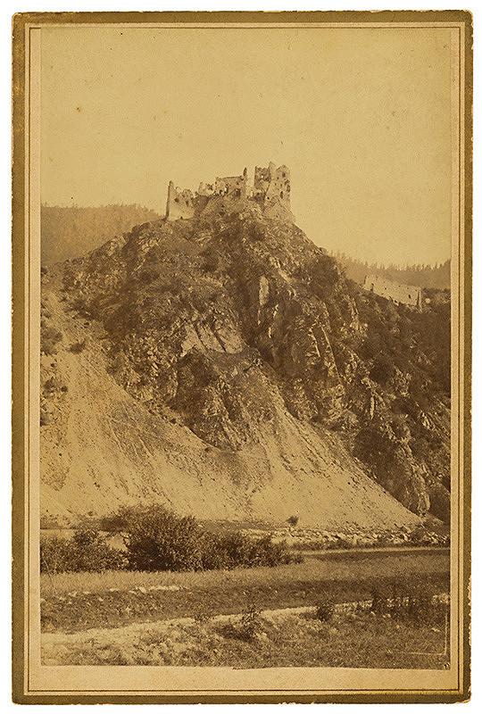 Neznámy autor - Zrúcanina hradu Starhrad