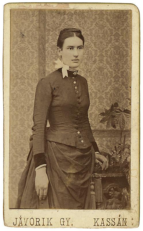 Gy. Jávorik – Portrét ženy