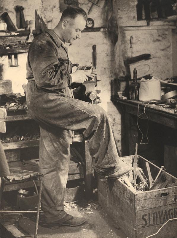 Viliam Malík – V dielni