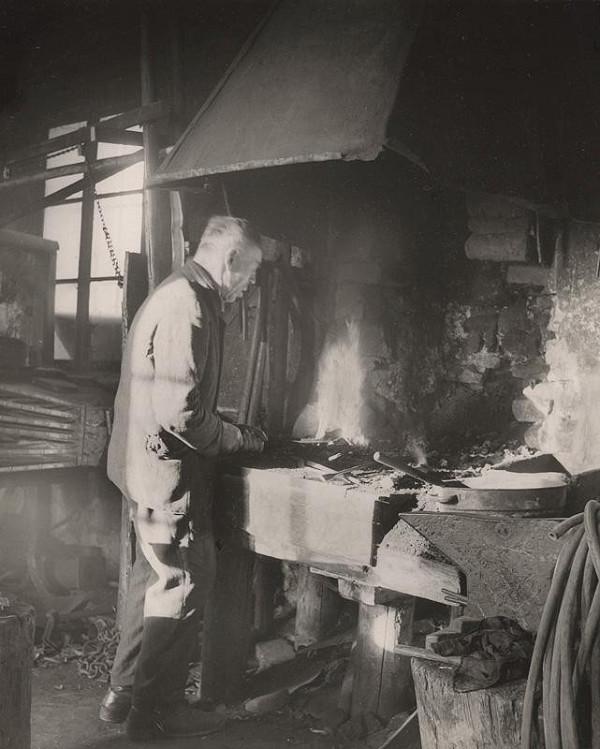 Ján Halaša – V kováčskej dielni. Malatiná