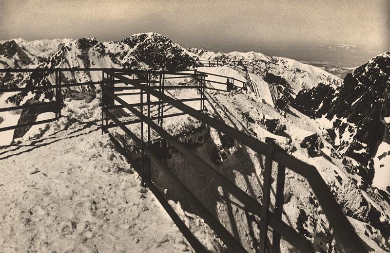 Ladislav Farkaš – Lomnický štít, 1938, Slovenská národná galéria